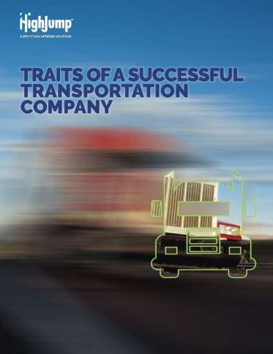 Traits of a Successful Transportation Company Whitepaper
